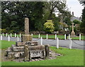 SD7849 : Remains of the village cross and stocks, Bolton by Bowland by Bill Harrison
