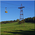 SD5666 : Aerial ropeway, Claughton Brickworks by Ian Taylor