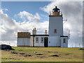 HU2078 : Eshaness Lighthouse by David Dixon