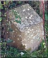 SS4388 : Gower Way marker stone by Alan Hughes