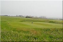 SX6642 : Thurlestone Golf Course by N Chadwick