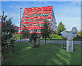 SK5439 : On Nottingham University Jubilee Campus by John Sutton