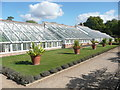 TL5238 : Greenhouses in the walled garden, Audley End by Humphrey Bolton