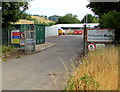 ST2999 : Wales & West Utilities Pontypool Depot entrance by Jaggery