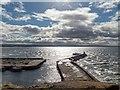 NJ1069 : Burghead Harbour Entrance : Week 39