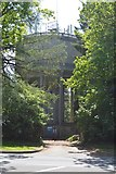 TQ6040 : Water Tower, Pembury Rd by N Chadwick