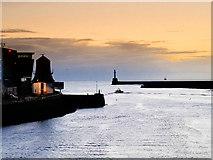 NJ9505 : Aberdeen Harbour Entrance by David Dixon