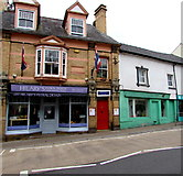 SO3014 : Hilary's Floral Design shop in Abergavenny by Jaggery