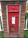 TL8526 : Coggeshall Road Victorian Postbox by Adrian Cable