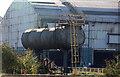 SE9111 : Appleby Frodingham Steelworks - reused boiler by Chris Allen