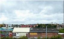 SJ8297 : A view from Cornbrook tram stop by Philip Platt