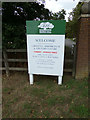 TL8424 : Marks Hall sign by Geographer