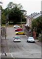 SS9391 : Steep western end of Coronation Street, Wyndham by Jaggery