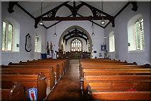 SD3097 : Interior of St Andrew's church, Coniston. by Des Colhoun