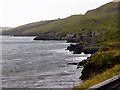 HU4227 : Rocky Shoreline near Mail by David Dixon