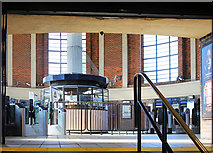 TQ2992 : The Ticket Hall at Arnos Grove Station by Des Blenkinsopp