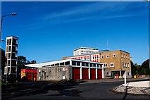 NS3421 : Ayr West Fire Station by Ian Rainey