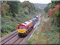 ST1882 : Rail-Head Treatment Train near Llanishen : Week 41