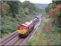 ST1882 : Rail-Head Treatment Train near Llanishen by Gareth James