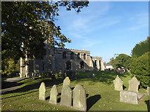 SK8976 : St Botolph's Churchyard, Saxilby by Marathon