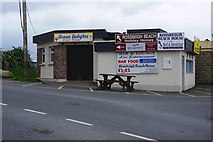 V6490 : Ocean Delights Fast Food, Rossbeigh Beach, Glenbeigh, Co. Kerry by P L Chadwick