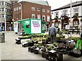 SJ9494 : MacMillan Cancer Support on Hyde Market by Gerald England