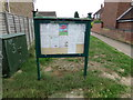 TL9023 : Marks Tey Village Notice Board by Adrian Cable