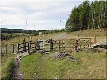 SN9402 : Collection of gates and fences on Twyr Rhondda Fach by Gareth James
