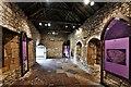 SE7984 : Pickering Castle: The Chapel interior by Michael Garlick