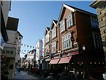 SU1429 : Butcher Row, Salisbury by Stephen Craven