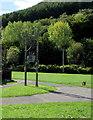 ST1792 : Line spur pole, Ynysddu by Jaggery