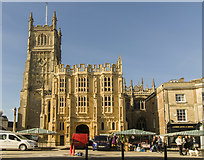 SP0202 : St John the Baptist church, Cirencester by J.Hannan