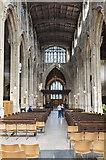 SP0202 : Interior, St John the Baptist church, Cirencester by Julian P Guffogg