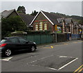 SS9695 : Bailey Street speed bumps, Ton Pentre by Jaggery