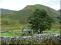 NY4216 : Two-storey farm building in Bannerdale by Christine Johnstone