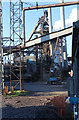 SE9110 : Appleby Frodingham Steelworks - blast furnace by Chris Allen