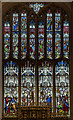 SP0202 : East window, St John the Baptist church, Cirencester by Julian P Guffogg