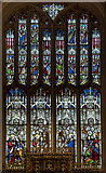 SP0202 : East window, St John the Baptist church, Cirencester by Julian P Guffogg