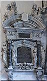 SP0202 : Memorial to Sir William Master, St John the Baptist church, Cirencester by Julian P Guffogg