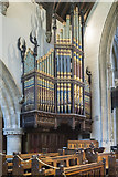 SP0202 : Organ, St John the Baptist church, Cirencester by J.Hannan