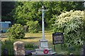 TL4459 : War Memorial, St Giles' Church by N Chadwick