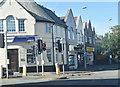 SJ3776 : Shops at Little Sutton by John Firth