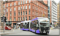 "J3373 : ""Glider"" bus, Fisherwick Place, Belfast (October 2018) by Albert Bridge"