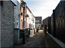TG5207 : Great Yarmouth's Rows - Row 34 (Quay Mill Row) by Evelyn Simak