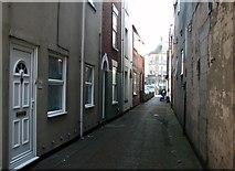 TG5207 : Great Yarmouth's Rows - Row 48 (Wheat Sheaf Row) by Evelyn Simak