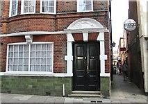 TG5207 : 32 Hall Plain (door) by Evelyn Simak