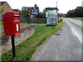 TL9426 : Spring Lane & Spring Lane Postbox by Adrian Cable