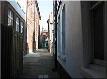 TG5207 : Great Yarmouth's Rows - Row 76 by Evelyn Simak