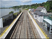 W7773 : Glounthaune railway station, County Cork by Nigel Thompson