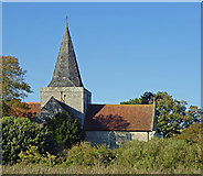 TQ5203 : Alfriston : St Andrew's Church by Julian Osley